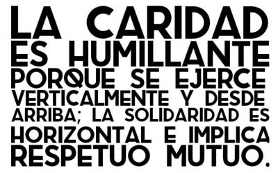 """Presentación en Moralzarzal del documental de la RSP """"Una red para organizar la solidaridad"""""""