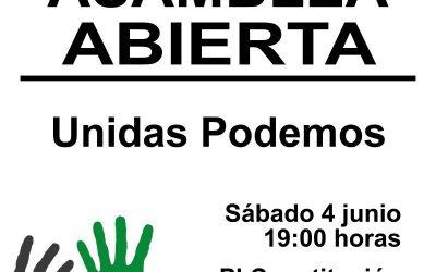 Asamblea abierta Unidas Podemos