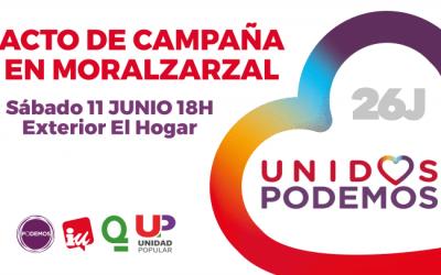 Acto campaña Moralzarzal 11 junio