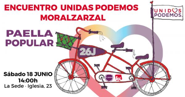 Paella popular Unidas Podemos