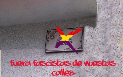Memoria histórica en las calles de Guadarrama