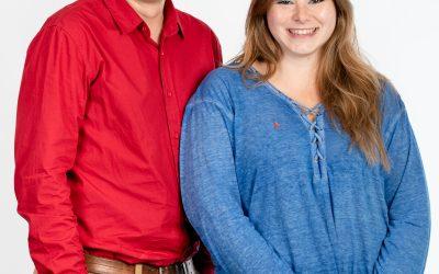 Entrevista a Paula Lucena e Iván Garcia en Adelante Sierra